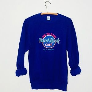 Vintage Retro 90's Hard Rock Las Vegas Sweatshirt